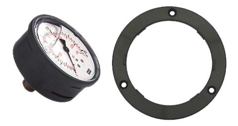 Manómetro presión 300bar con embellecedor